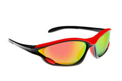 Refroidissez, mode et lunettes de soleil colorées de sport Photo libre de droits