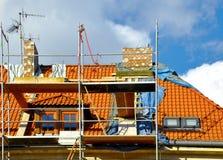 Refubrishment da construção Imagens de Stock Royalty Free