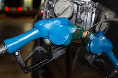 Refueling diesel to car Royalty Free Stock Photography