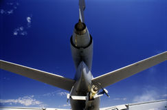 Refueling plane Stock Photography
