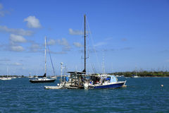 Refueling station in the Keys Royalty Free Stock Photography