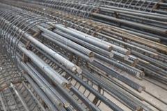 Refuerzo del hierro y del acero Fotografía de archivo libre de regalías