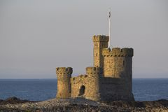 Refuge Castle royalty free stock images