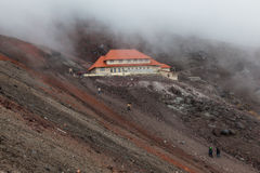 Refuge of Cotopaxi Royalty Free Stock Images