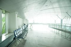 Refuge d'aéroport Photo stock