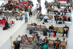 Refuge d'aéroport de Heathrow Image libre de droits
