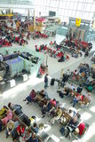 Refuge d'aéroport de Heathrow Image stock