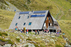 Refuge d'Ayous in the Atlantic Pyrenees Stock Image