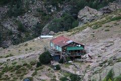 Refuge d`Ortu di u Piobbu, Corse, France. Stock Images