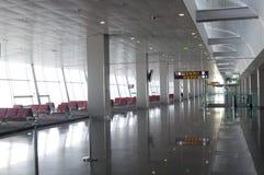 Refuge de départ d'aéroport Image stock