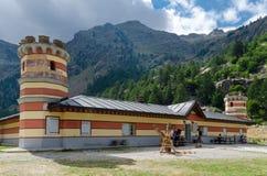 Refuge de montagne Image stock