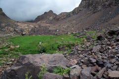 Refuge du Toubkal Stock Image