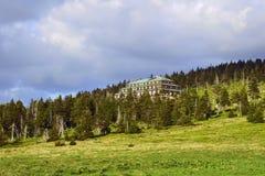 Refuge in Giant Mountains. Poland Stock Photo