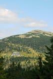 Refuge in Karkonosze mountains. Poland Royalty Free Stock Images