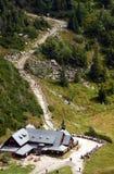 Refuge in Karkonosze mountains. Poland Royalty Free Stock Photo