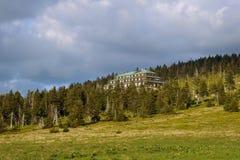 Refuge in Karkonosze mountains. Poland Stock Image