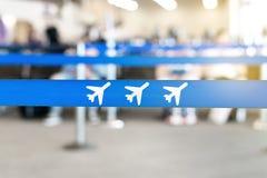 Refuge, lobby ou salon d'aéroport Image libre de droits