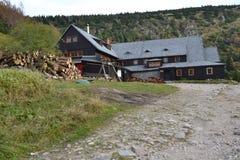 Refuge in mountains. Refuge Samotnia in mountains Karkonosze Stock Images