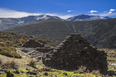 Refuge in Sierra Nevada Stock Images