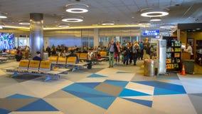 Refuge sur l'aéroport Images stock
