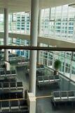 Refuge vide de terminal d'aéroport Image stock