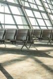 Refuge vide de terminal d'aéroport Photographie stock libre de droits