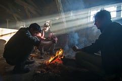 refugee foto de stock royalty free