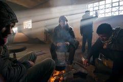 refugee fotografia de stock