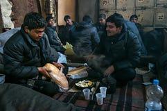 refugee fotos de stock