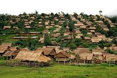 Refugee camp, mae sod, tak, thailand Stock Image