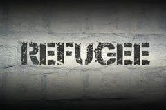 Refugee WORD GR Stock Photos