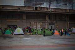 refugees Foto de Stock