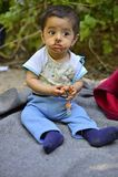 Refugees in Babska (Serbian - Croatina border) Royalty Free Stock Photo