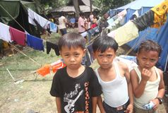Refugees Royalty Free Stock Image