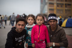 Refugees royalty free stock images