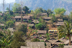 Refugees village Royalty Free Stock Images