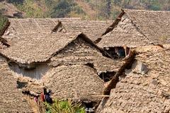 Refugees village Stock Image