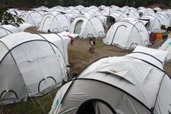 Refugiados Fotografía de archivo libre de regalías