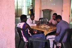 Refugiados africanos en Israel foto de archivo