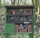 Refugio artificial para los insectos llamados Fotos de archivo
