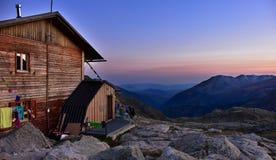 Refugio colomina ay noc, Hiszpania Fotografia Stock