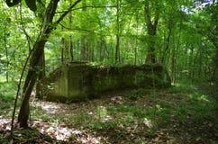 Refugio de bomba abandonado Imagenes de archivo