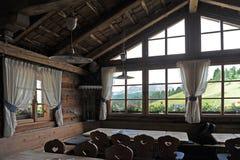 Refugio de la montaña Imágenes de archivo libres de regalías
