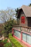 Refugio de la montaña fotos de archivo