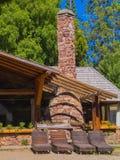 Refugio de la montaña Imagen de archivo libre de regalías