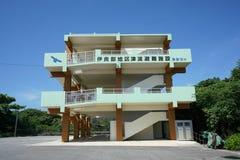 Refugio del tsunami Fotos de archivo libres de regalías