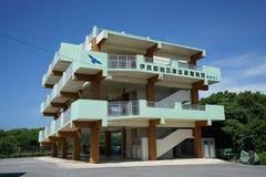Refugio del tsunami Fotografía de archivo