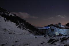 Refugio en el bosque Foto de archivo