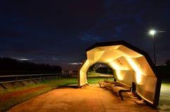 Refugio en el parque de naturaleza Fotos de archivo libres de regalías