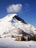 Refugio en la nieve Imagen de archivo